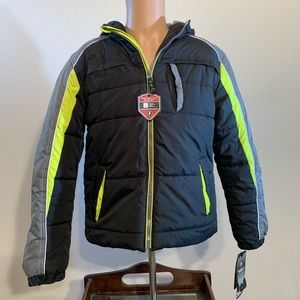 NEW WITH TAGS Protection System Bubble Jacket Coat